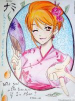 [Nami----san] Happy new year! by sakura-streetfighter