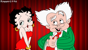 Betty and Benny Boop 4th 1993 Film Scene by Rapper1996