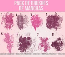 Pack de brushes *-* by ItWasJustAKiss