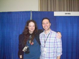 Me with Sam Riegel by PaladinCecil