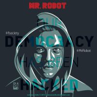 Mr.Robot Square Version by laksanardie