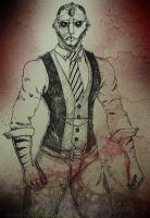 Thane Krios - Aliens in suits by DesDeemona