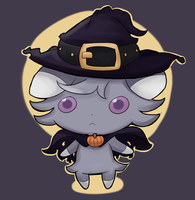 Halloween Espurr by Lui421