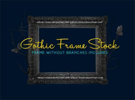 Gothic Frame Stock by Wesley-Souza