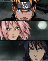 Naruto - Team 7 reunion by graypapaya