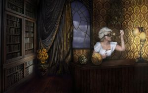 The WatchMistress by Notvitruvian