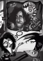 Tim Burton Caricature by Oliarturo