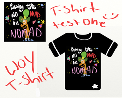 Woy T-shirt test by cartoonwho