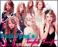 PACK 7 PNG'S TAYLOR SWIFT by AndyBieber