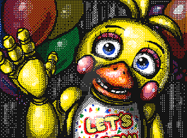 Flipnote Studio 3D - Toy Chica by QuaggledMireclops622