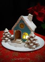 Christmas Gingerbread House by GingerbreadFairy