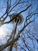 space needle by Hairman