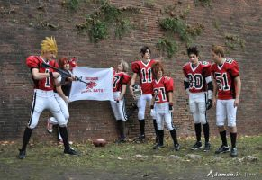 Eyeshield 21: Hiruma's Traning Session by adaman77