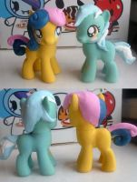 FOR SALE My Little Bon Bon and Lyra Heartstrings by mooncustoms