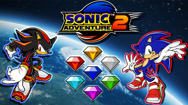 Sonic Adventure 2 Wallpaper by AceDemonHunter