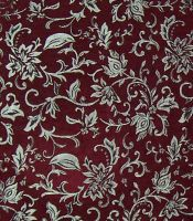 Red and Silver Brocade by 3-sisters-stock
