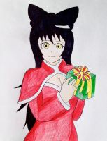 Christmas 2016: Blake Belladonna by SonicHeroXD
