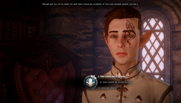 Inquisitor Lavellen|Leif Lavellan by FancyPancake55