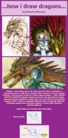 How I Draw Dragons by SabreBash