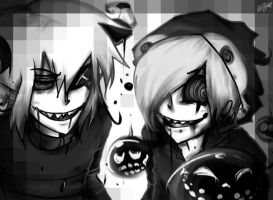 Monochrome Madness by Riku-X-Gaara