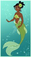 Tiana Mermaid by uppuN