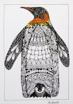Emperor Penguin by Anbeads