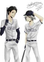 Vongola Baseball Team by B-E-F-F