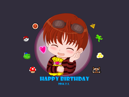Happy Birthday to Matt 2014 by HagaHotaru