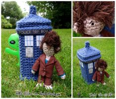 Tenth Doctor Crochet by Sini-M