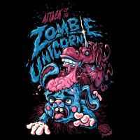 Attack Of The Zombie Unicorn by Design-By-Humans
