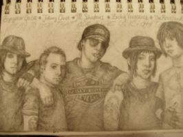 Avenged Sevenfold by darkened-eyes