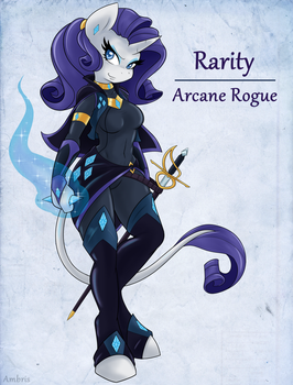 Adventuring is Magic: Rarity by Ambris