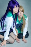 HIGHSCHOOL OF THE DEAD Cosplay by jiaanxu