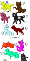 3 Point Canine and Feline Adopts - OPEN by SoftcloudRC