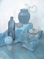 Still life in blue by Di---Chan