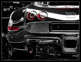 Bugatti Veyron in Chrome by Andso