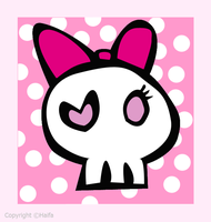 cute.skull by Haifona