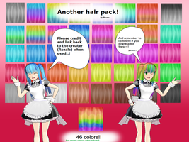 Another Hair pack (download) by Rozala