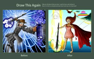 Draw this Again Challenge: Creative Release by kalistina