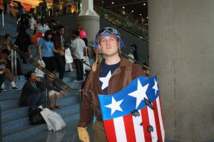 Captain America cosplay Anime Expo 2012 by jwave001