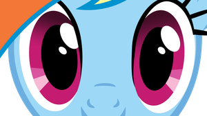 Eyes Rainbow Dash by kittyhawk-contrail