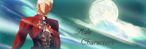 Male Characters by xJapalicious