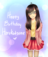 Happy Birthday Harukatsune! by xxxRinRulesxxx