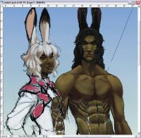 WIP: Male Viera by Lelia