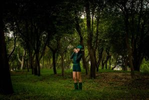 Song in the woods by MelodyZombie