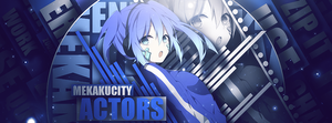 Mekaku City Actors (Ene) Timeline Cover by iDeaThCroSs