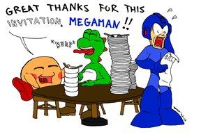 Poor Megaman by Johnne