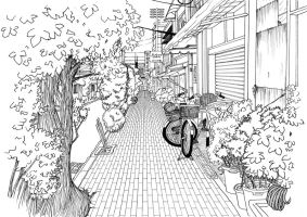 Background Lineart by Kayo7