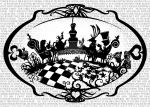 Alice In Wonderland Tea Party Paper Cut by PaperPandaCuts