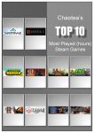 Top 10 Most Played Steam Games by chaotea